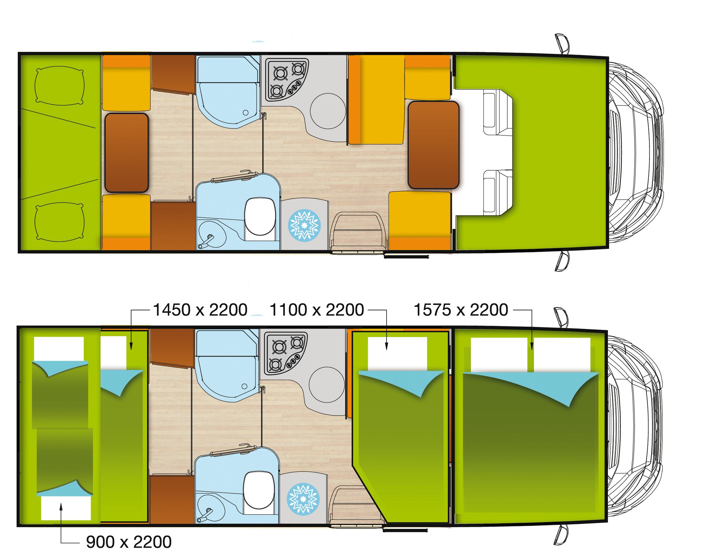 Wohnmobil mieten in Rheinberg - Camperfuchs.de